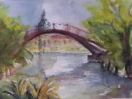 Brücke mit Schloss