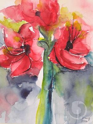 Amaryllisblüte