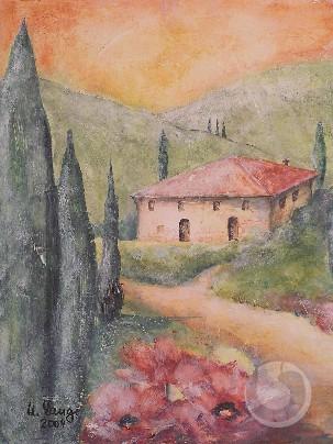 Toskana (Fresko)